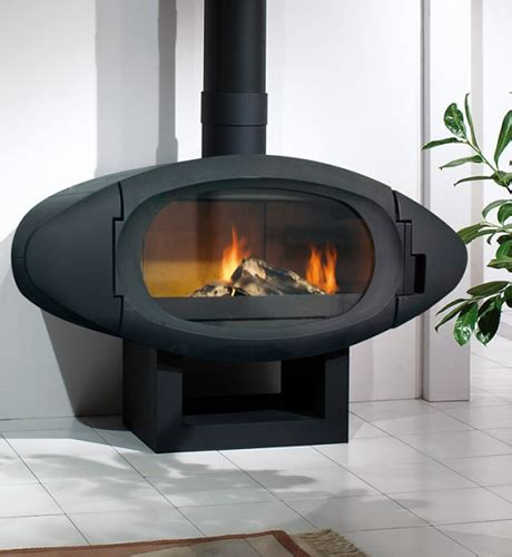 Poele Cheminee Philippe by Contemporary Wood Burning Stoves By Cheminees Philippe