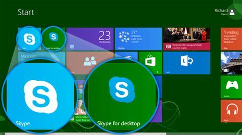 skype para escritorio de windows 8 skype para el escritorio y skype para windows 8 en la