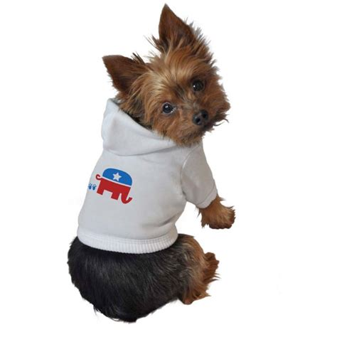 puppy sweatshirt republican sweatshirt hoodie political clothes collars and leashes at