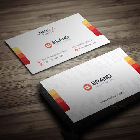 template for vertical business cards horizontal vertical business card template 5 template