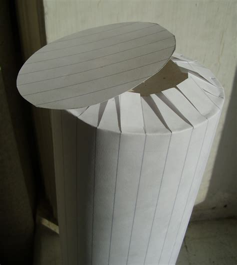 How To Make Cylinder With Paper - stirling engine made from a pringles box