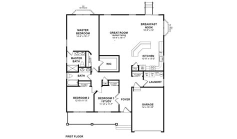 laurel floor plan the laurel paparone homes of new jersey
