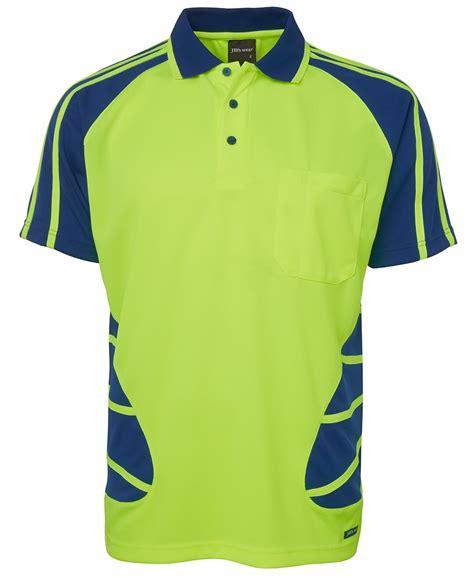 Inc Polo Shirt Royal Blue terrain industries hi vis s s spider polo lime royal blue