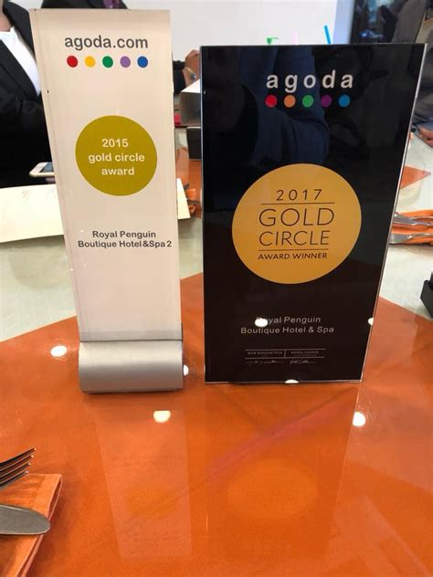 agoda reviews 2017 royal penguin won agoda gold circle award 2017