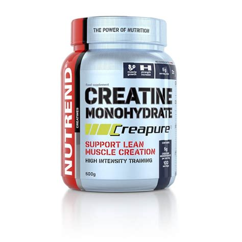 creatine vs creatine monohydrate creatine monohydrate creapure nutrend supplements
