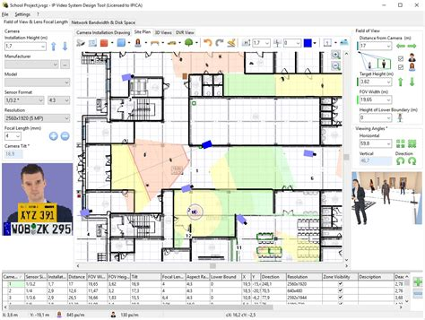 Open Office Floor Plan Layout by Jvsg Cctv Design Software