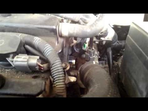 diy p  nissan altima  camshaft position sensor bank  replacement youtube