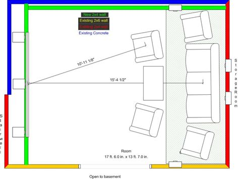 home theater floor plans home theater plans smalltowndjs com