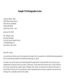 Resignation Letter Sles For Nurses by 30 Resignation Letter Exles