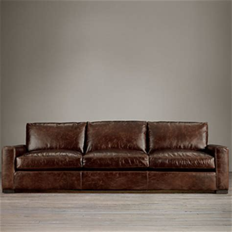 restoration hardware couches leather copy cat chic restoration hardware maxwell leather sofa