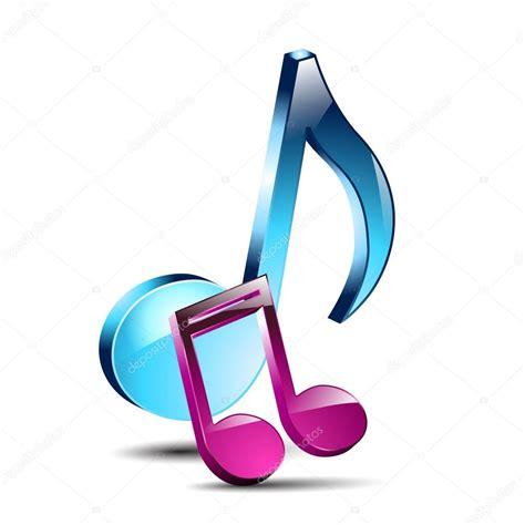 imagenes musicales 3d notas musicales 3d vector de stock 52749011 depositphotos