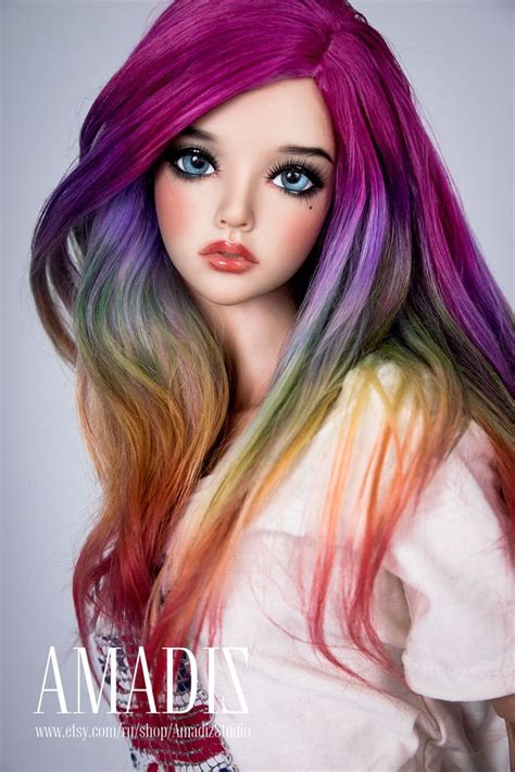 jointed doll wigs 651 best images about jointed dolls on