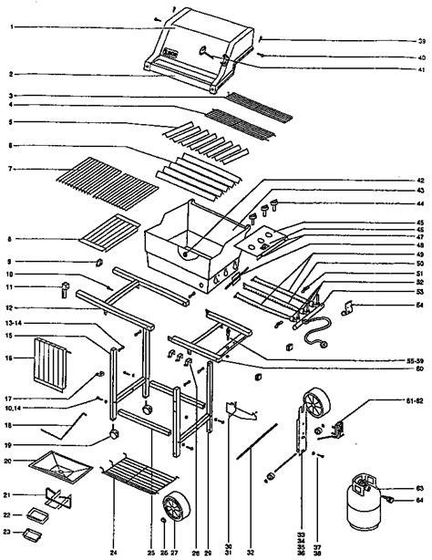 weber genesis parts diagram weber grill outdoor lp parts model genesis1000 sears