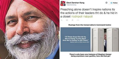 Closet Liberal by Liberal Candidate Darshan Kang Distances Himself From