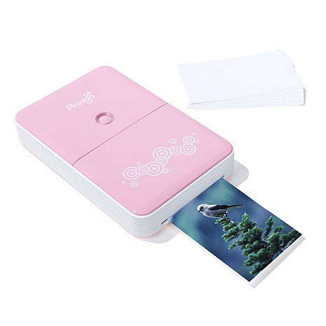 Printer Portable Pringo P231 pringo pocket wifi photo printer in pink need scrapbook products wish list