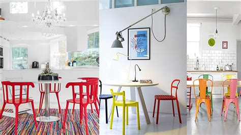 funky hardwearing modern bright coloured plastic stackable chairs our top 5 coloured plastic dining chairs danetti lifestyle