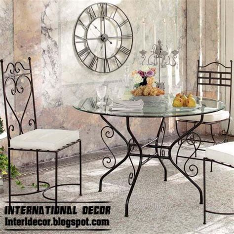 various wrought iron furniture items for home decor ideas wrought iron furniture cool ideas for different rooms