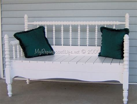 making a bench out of a bed 17 best images about spool bed bench on pinterest twin twin headboard and repurposed