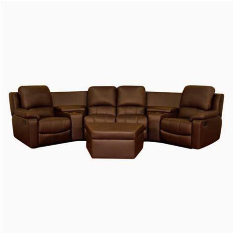 Curved Sectional Recliner Sofas 12 Best Ideas Of Curved Recliner Sofa