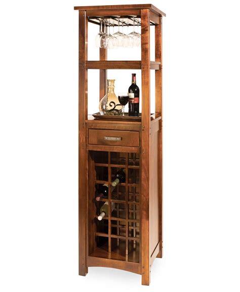 brunswick wine tower amish direct furniture