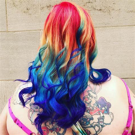 subreddits for hair rainbow hair i did a few months back hair