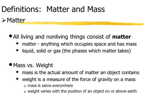 define matter 4 22 2017 chemistry comes alive chapter 2 j f thompson