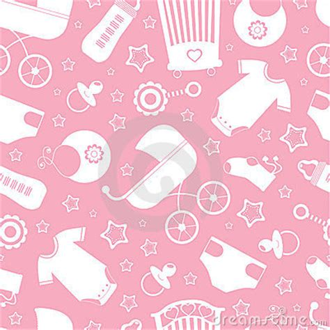 Deco Wallpaper 4561 by Pink Baby Shower Background Stock Image Image 24034351