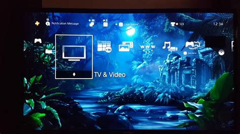 ps4 layout youtube fireflies in the jungle hiq dynamic theme ps4 design youtube