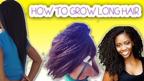how to grow long healthy hair as an indian ehow how to grow long healthy hair for black women youtube