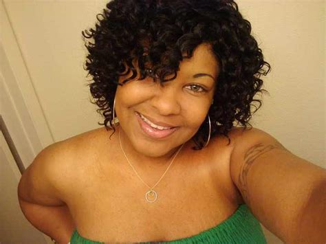 spiral short hair for black women deep wave hair with a mohawk short hairstyle 2013