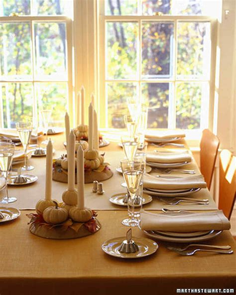 Martha Stewart Decorations by Thanksgiving Table Tableau Decorations Martha Stewart