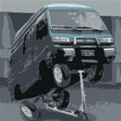 Lu Tembak Mobil dp bbm lucu mobil naik skuter dp bbm lucu animasi bergerak