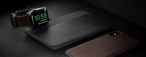 nomad introduces    wireless charging hub  iphone  apple