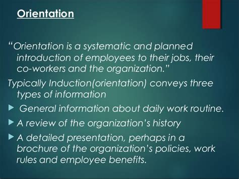 induction and orientation in hrm induction and orientation in hrm