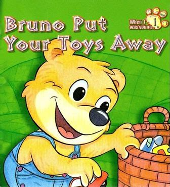how to your to put his toys away bruno put your toys away children book review
