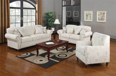 white sofa set living room norah shabby chic off white antique inspired living room