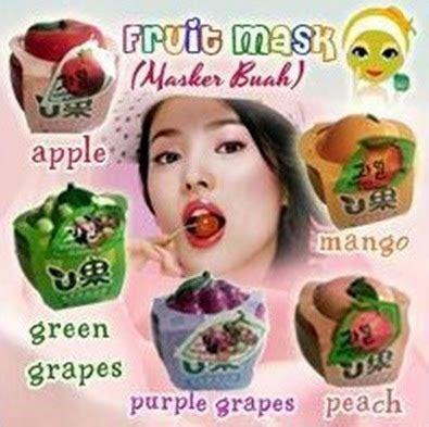 Masker Varian Fruit masker buah korea