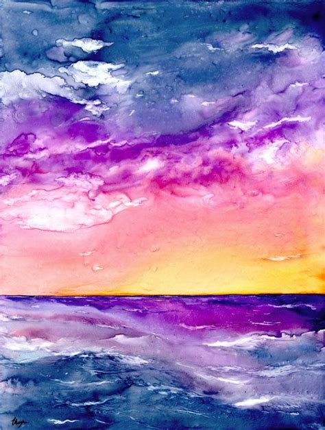 water color sunset watercolor sunset www imgkid the image kid