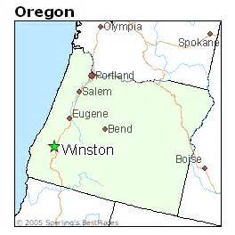 winston oregon map best places to live in winston oregon