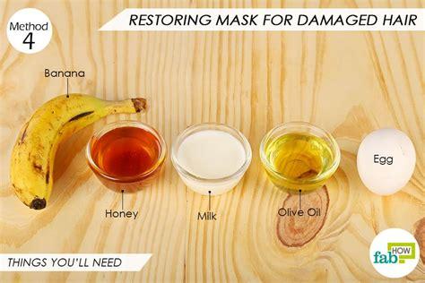 diy hair mask for damaged egg diy do it your self