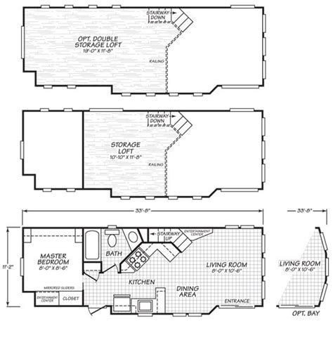 park homes floor plans 44 best tiny house plans images on house floor