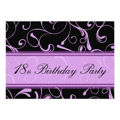 18th Birthday Invitation Card Template by 438 Best 18th Birthday Invitations Images On