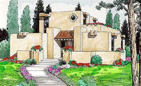 santa fe southwest house plan 54604 santa fe southwest house plan 94304