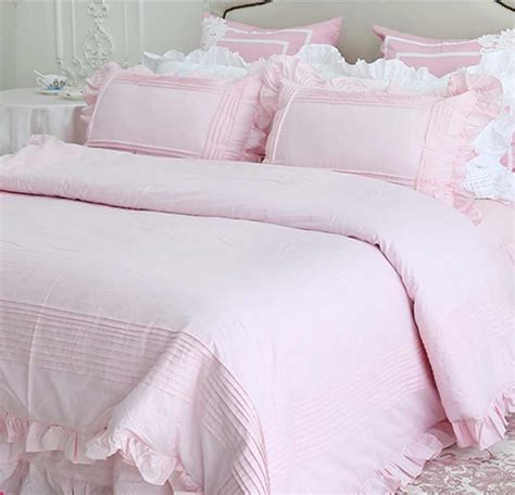 Online Buy Wholesale Plain Yellow Bedding From China Plain Solid Pink Bedding