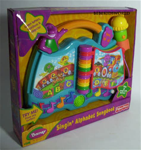 Mainan Edukasi Fisher Price Colours Shapes Activity Book With Rew www bebekidsworld barney sing n learn alphabet