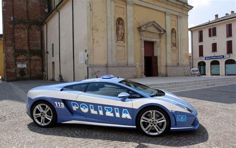 Polizia Lamborghini Polizia Stradale Lamborghini Racing At Monza Autoevolution