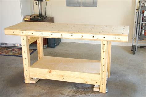 mobile woodworking bench mobile torsion box workbench by ron stewart
