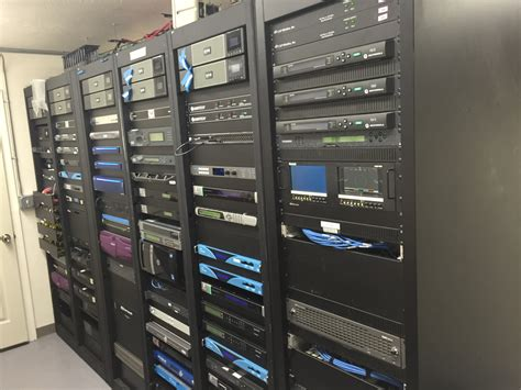 Broadcast Rack by Rack Equipment Kmvu Broadcast Systems