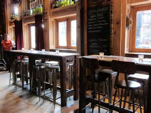 restaurant high top bar tables manhattan living 183 osteria cotta on the uws outdoor