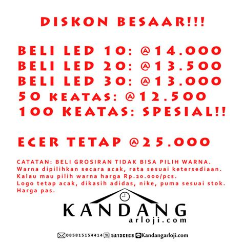 Led Model Gelang jual jam tangan model gelang led rubber murah